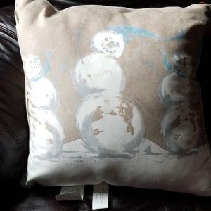 Snowman Decorative Pillow